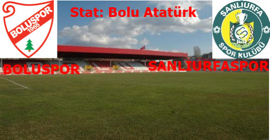 Boluspor 4-2 Şanlıurfaspor