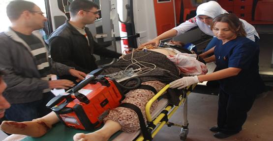 Bozova  Yolunda Trafik Kazası: 7 Yaralı