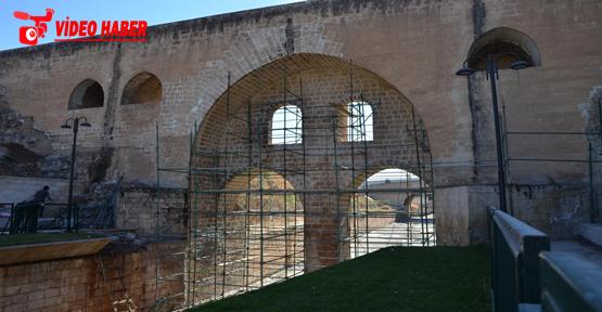 Büyükşehirden Tarihi Yapılarda Hummalı Çalışma