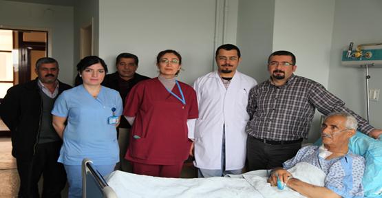 ÇALIŞAN KALPTE BAYPAS AMELİYATI YAPILDI..