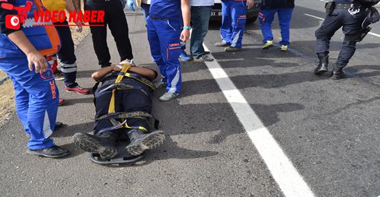Çevik kuvvet otobüsü kaza yaptı, 14 yaralı
