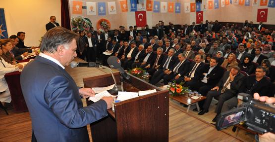Ceylanpınar 5. olağan kongresi yapıldı.