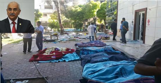 CHP Heyeti Suruç'ta İnceleme Yaptı