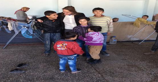 Çocuk hakları Suruç'ta