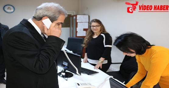Demirkol, Vatandaşlardan Gelen Telefonları Cevapladı