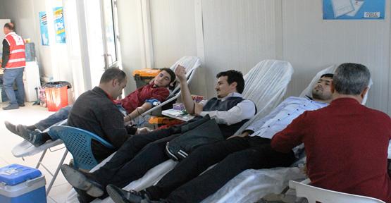 DİCLE EDAŞ'tan Kan Bağışına Destek