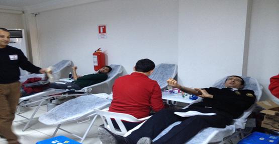 DİCLE EPSAŞ Personelinden Kan Bağışı