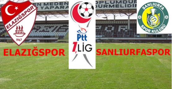Elazığspor 1-1 Şanlıurfaspor