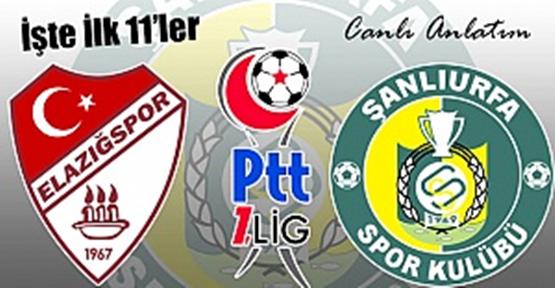 Elazığspor 2-1 Şanlıurfaspor