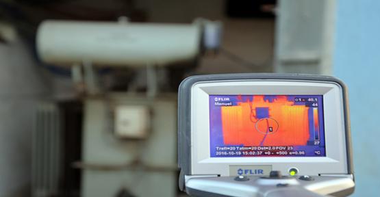Elektrik arızalarına termal kamer ile çözüm