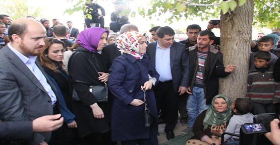 Erdoğan Çadırkenti ziyaret etti