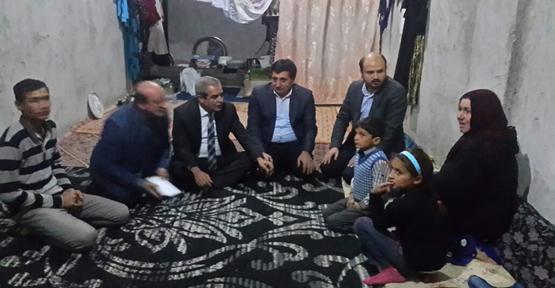Erdoğan çocuklara mont hediye etti