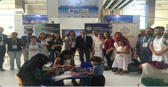 EXPO 2016 Antalya'da, Harran Üniversitesi Standına Ziyaretçi Akını