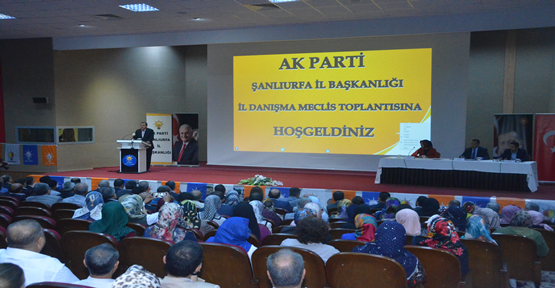Eylül Ayı İl Danışma Meclis Toplantısı Yapıldı