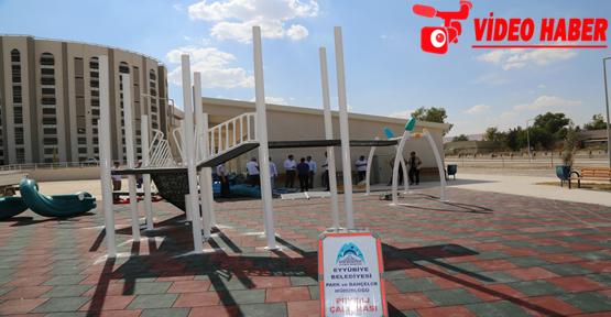 Eyyübiye Belediyesinden 800 Yataklı Hastaneye Çevre Düzenlemesi