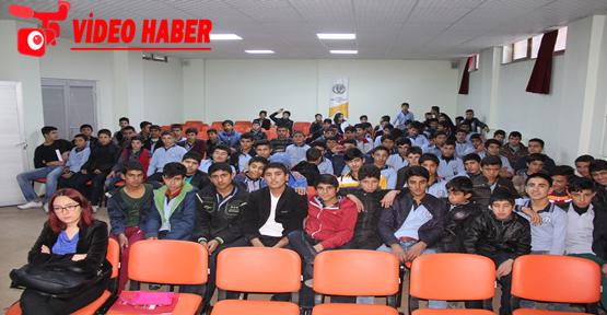 Eyyübiye Belediyesinden Öğrencilere Doğal Afet Semineri