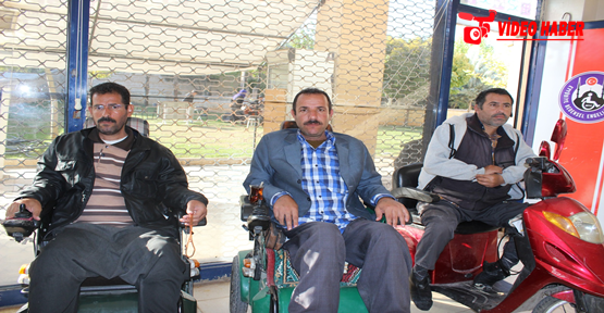 Eyyübiye'de Engellilerin Engeli Kalktı