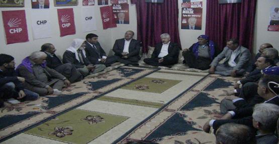 Eyyübiye'deki Muhacirlerden CHP'ye tam destek.