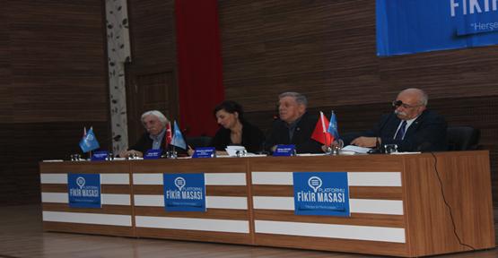Fikir masasından Ortadoğu paneli