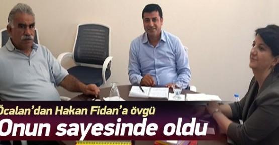 Hakan Fidan'a övgü