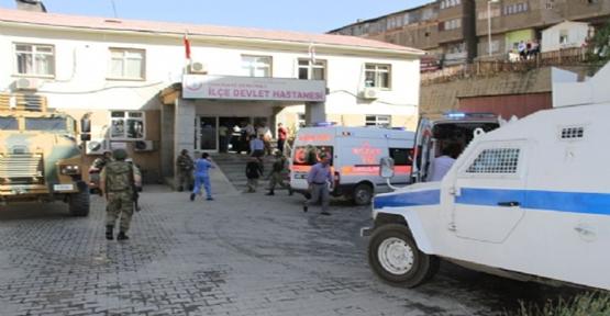 Hakkari'de 2 Asker Şehit 3 Yaralı