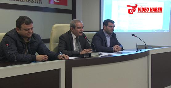Haliliye Belediye Meclisi Kasım Ayı İlk Oturumu Yapıldı