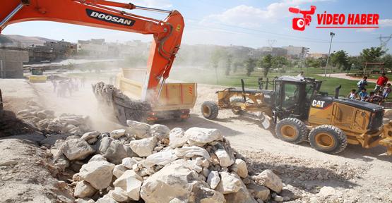 Haliliye Belediyesi 41 Mahallede Yol Yapımını Tamamlandı