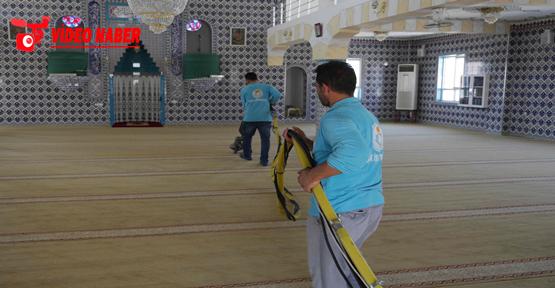 Haliliye Belediyesi, İbadethaneleri Kurban Bayramı'na Hazırlıyor