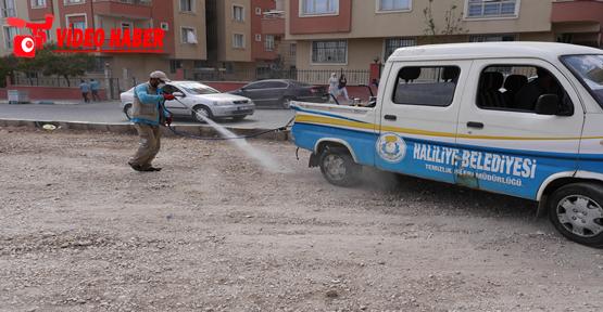 Haliliye Belediyesi'nden Kapsamlı İlaçlama Ve Temizlik Çalışması