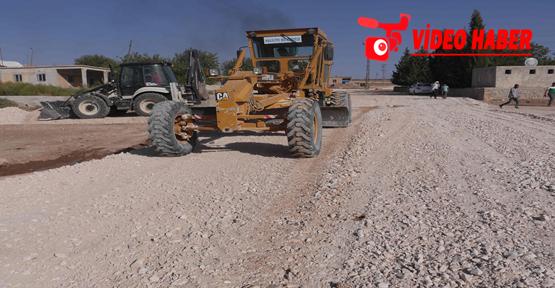 Haliliye Belediyesi'nden Kırsal Mahallelerde Yol Yapım Çalışması