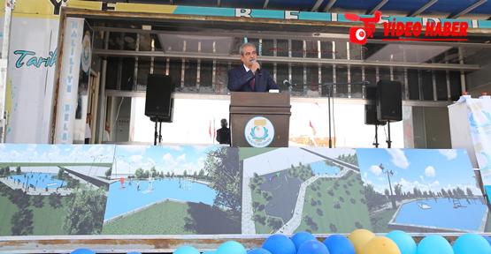 Haliliye'de 9 Park İle Aile Yaşam Merkezinin Temeli Atıldı