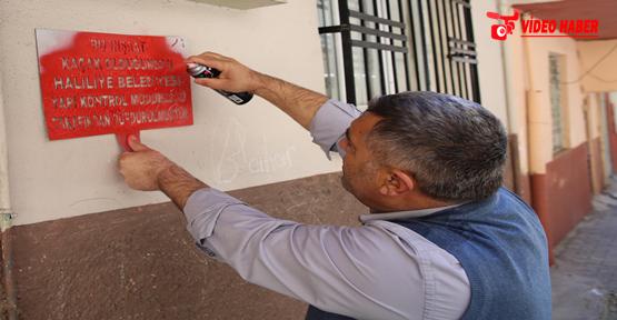 Haliliye'de Kaçak Yapılara Yeni Önlem
