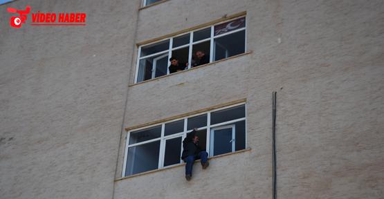 Harran Üniversitesinde intihar girişimi