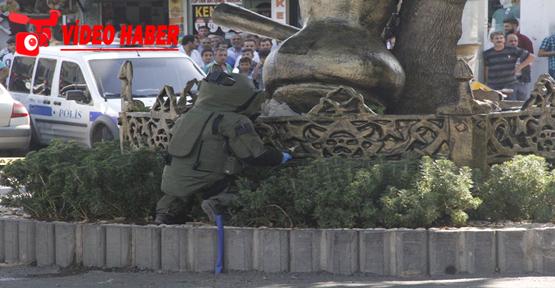 Haşimiye meydanında bomba paniği