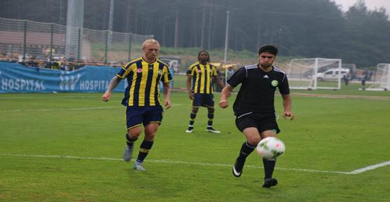 Hazırlık maçını Fenerbahçe kazandı