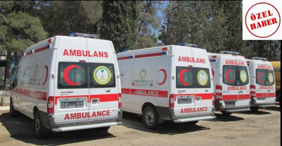 Hediye Edilen Ambulanslar Bekletiliyor!
