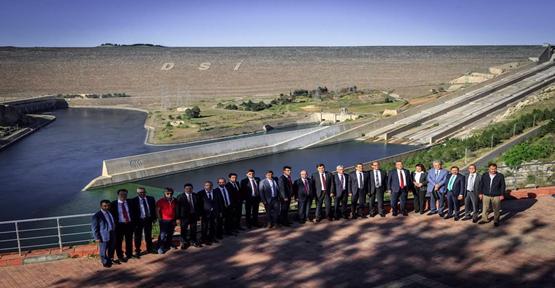 HSYK Atatürk Barajını gezdi