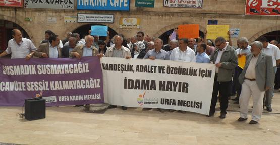 İdamlar protesto edildi