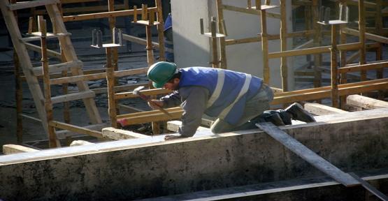 İnşaat işçileri dertli