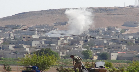 IŞID mevzileri bombalandı