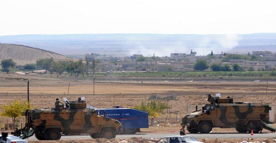 IŞID Tankları Vuruldu