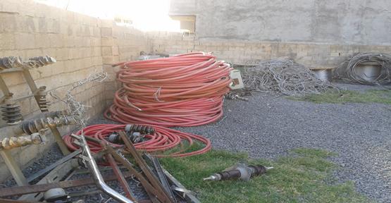 Kablo Hırsızı Suçüstü Yakalandı
