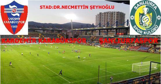 Kardemir Karabükspor 1-0 Şanlıurfaspor