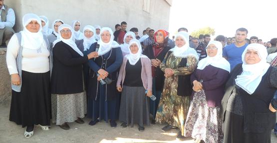 Kobani sınırda açıklama yaptılar