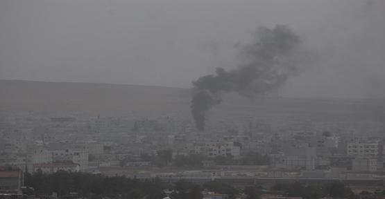 Kobani'de çatışmalar akşam şiddetlendi