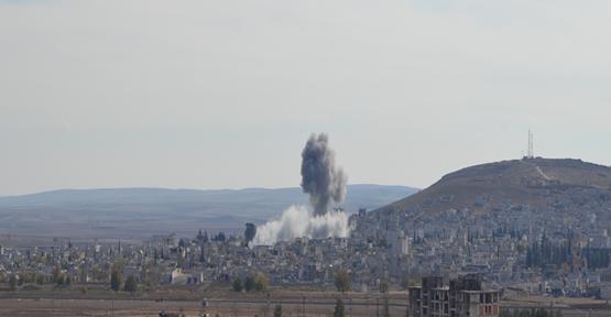 Kobani'ye İkinci Bombalı Saldırı