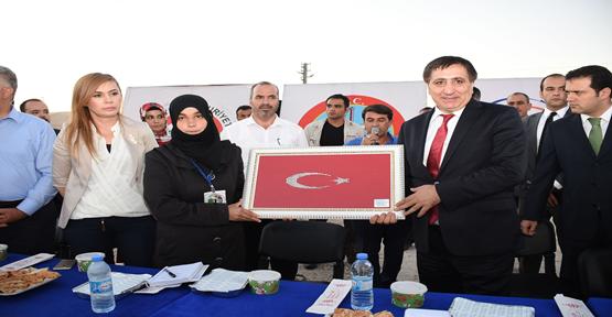 Küçük, Çadır kent iftar açtı