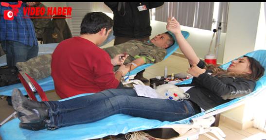 Mehmetçik'ten Kan Bağışı