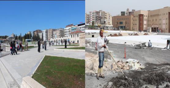 Meydanlar Kente Nefes Aldırdı