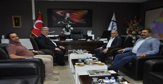 Milletvekili Fakıbaba'dan SGK'ya Ziyaret
